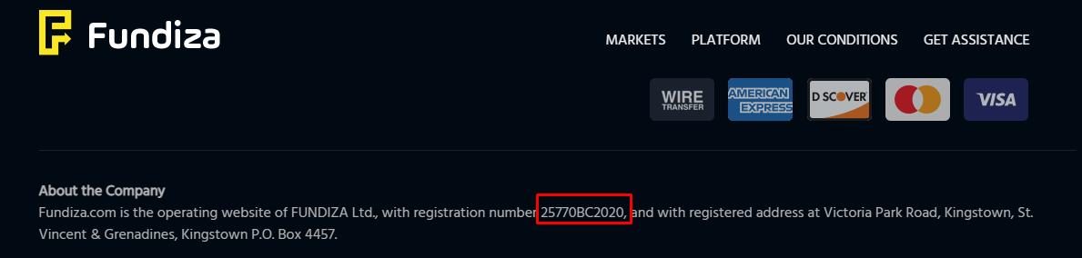 Компания была зарегистрирована только в 2020 году