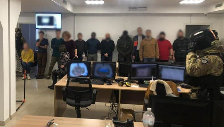 Арестована сеть мошеннических колл-центров Киева