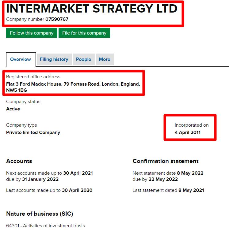 Intermarket Systems LTD проект от мошенников United Asset Finance