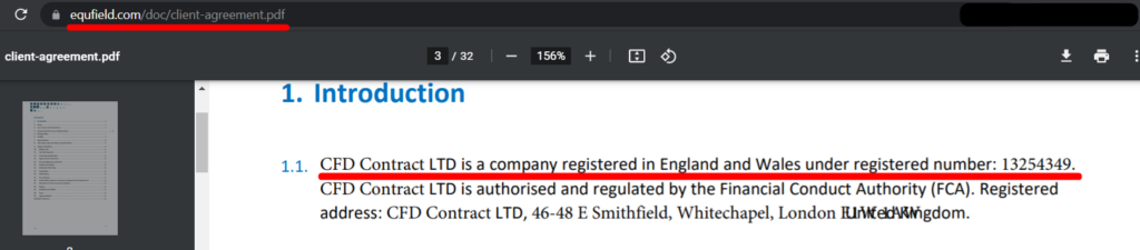 CFD Contract LTD registered number 13254349 мошенники